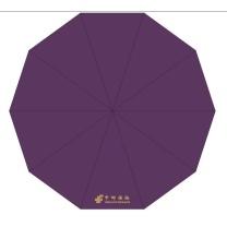 天堂 定制雨伞 短柄 3592E 10骨 (紫色) 【中邮保险链接起订量3000】