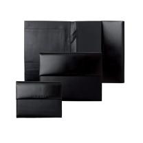 雨果博斯 HUGO BOSS Caption A5尊贵黑色皮质经理夹 HLH701A (黑色)