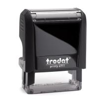 卓达 trodat 国产 定制印章(DZ) 4911 38*14mm  (下单前请与客服沟通您的定制信息)