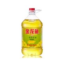金龙鱼 精炼一级菜籽油 非转基因 5L