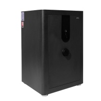 晨光 M&G 纯平指纹密码保险柜 AEQN8974 FDG-A1D-65A4 H650*W440*D380 (黑金) 2台起订 净重:88kg