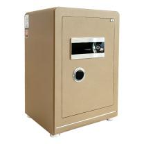 晨光 M&G 纯平指纹密码保险箱 AEQN8918 FDG-A1/D-65A2 H669*W440*D380 (香槟金 (碳晶纹)) 2台起订 净重:88kg