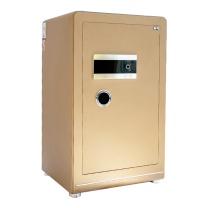 晨光 M&G 纯平指纹密码保险箱 AEQN8919 FDG-A1/D-80A2 H869*W490*D420 (香槟金 (碳晶纹)) 2台起订 净重:117kg