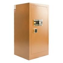 晨光 M&G 金甲指纹密码保管箱 AEQN8915 BGX-5/D2-93A1 H992*W500*D460 (摩卡金 (岩石皱纹)) 2台起订 净重:69kg