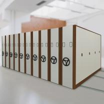 洛克菲勒 手摇式移动密集柜 H2400*W900*D580
