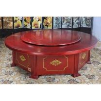 永立 木质餐桌 直径1.6M 1.0KG (褐色)