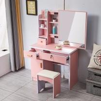 国产 简约现代化妆桌左边柜 W1400*D650*H2300 (象牙白)