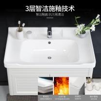 国产 卫浴柜洗漱台盆套装 吕思系列 80cm吊柜 (白色)