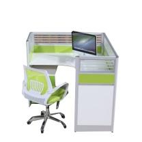 办公屏风工位 W340*D60*H480~630mm  含移门柜 DZ