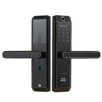 固特 指纹锁家用防盗门锁室内木门智能锁密码锁电子锁办公室房间门 2318