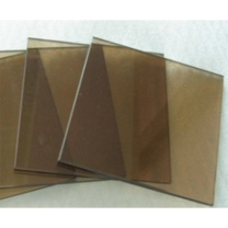 顺华 10mm钢化茶色玻璃 1400*800