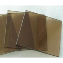 顺华 10mm钢化茶色玻璃 434*334