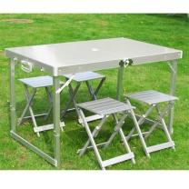 国产铝合金折叠桌椅套装