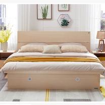 广圣办公 双人床(含双床头柜) GSC-1 1.8mx2m 含双床头柜