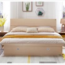 广圣办公 单人床(含单床头柜) GSC-3 1.2mx2m 含单床头柜