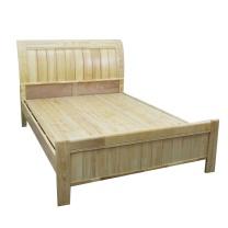颂泰 实木双人床 1.5m  简易经济床