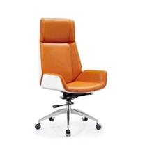 鸿业 办公椅 (白靠背椅子+黑色皮面) DZ