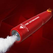 国产灭火器换粉服务 干粉 4kg (白色)