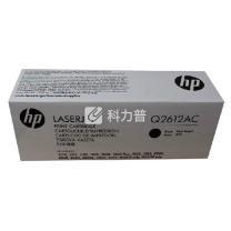 惠普 HP 硒鼓 Q2612AC (黑色) (白包装)