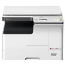 东芝 TOSHIBA A3黑白数码复印机 e-STUDIO2303AM (复印/网络打印/扫描/双面器/单纸盒/双面输稿器/工作台)