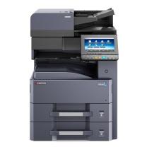 京瓷 Kyocera A3黑白数码复印机 4012i  (双纸盒、双面输稿器、工作台)