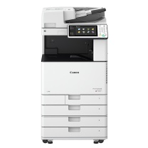佳能 Canon A3 彩色多功能复合一体机 iR-ADV C3520  (双纸盒 、双面同步扫描输稿器、内置式装订处理器、工作台)