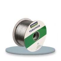 TEMAC/太美6100纯石墨盘根 泵阀耐高温高压填料密封4*4mm 5KG/卷