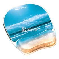 范罗士 Fellowes 热带风情系列鼠标垫 蔚蓝海岸 91793