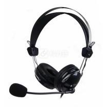 双飞燕 A4TECH 耳机 HS-7P (黑色)