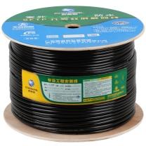 秋叶原 CHOSEAL QF-7726M SFTP六类千兆网线双屏蔽防水室外户外监控网络线