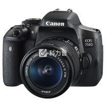 佳能 Canon 单反套机 750D (含EF-S 18-55mm f/3.5-5.6 IS STM镜头)  (含包+16G卡)