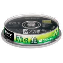 索尼 SONY 光盘  10片/筒 DVD+R 16X 4.7G