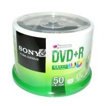 索尼 SONY 光盘  50片/筒 DVD+R 可打印 16X 4.7G