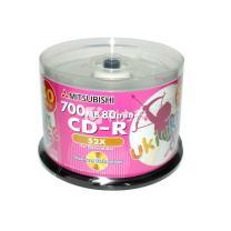 三菱 uni 光盘  50片/筒 CD-R 52X 700MB