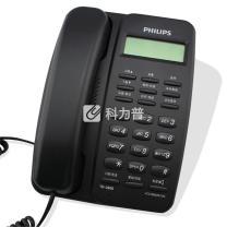 飞利浦 PHILIPS 电话机 TD-2808 (黑色) 来电显示