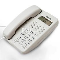飞利浦 PHILIPS 电话机 TD-2808 (白色) 来电显示