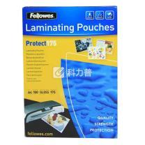 范罗士 Fellowes 塑封膜 Laminating film 53087 A4 175mic(17.5丝)  100张/包