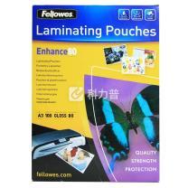 范罗士 Fellowes 塑封膜 Laminating film 53062 A3 80mic(8丝) 100张/包
