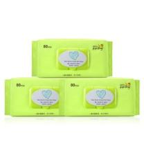 国产 婴儿湿巾(80抽带盖)
