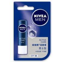 妮维雅 NIVEA 润唇膏 男士型 4.8g