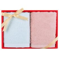 梦特娇 MONTAGUT 阿瓦提新疆棉毛巾礼盒 1828F128 34*75cm 140g*2