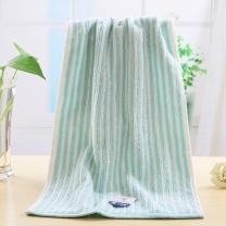 金号 KINGSHORE 纯棉毛巾 GA1047A 素色条纹提缎洗脸面巾