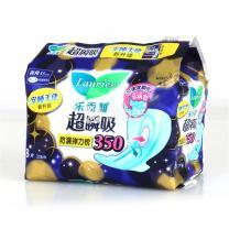乐而雅 夜用卫生巾 8片/包 24包/箱 (超瞬吸超长护翼型夜用)