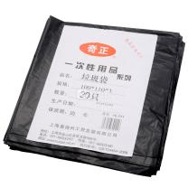 奇正 垃圾袋 100cm*110cm (黑色) 20只/包 20包/箱 3丝 干垃圾
