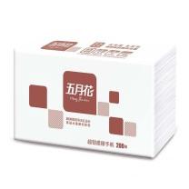 五月花 may flower 擦手纸 A181600 双层三折  200抽/包 20包/箱