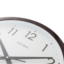 金钟宝 电子挂钟 DLW1043-2 40cm (咖啡色) (仅限上海)