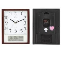 金钟宝 电子挂钟 DLW1024-2 (咖啡色) (仅限上海)