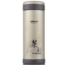 哈尔斯 健康紫砂直杯 HZS-300A 300ml (米黄色) 24只/箱