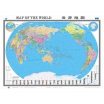 国产 世界地图 中英对照 1.1M*1.5M  (新老包装交替以实物为准)