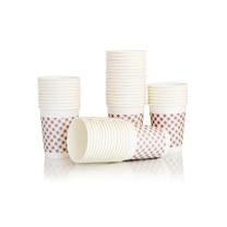 得力 deli 纸杯9盎司 9570 (粉色) 250ml